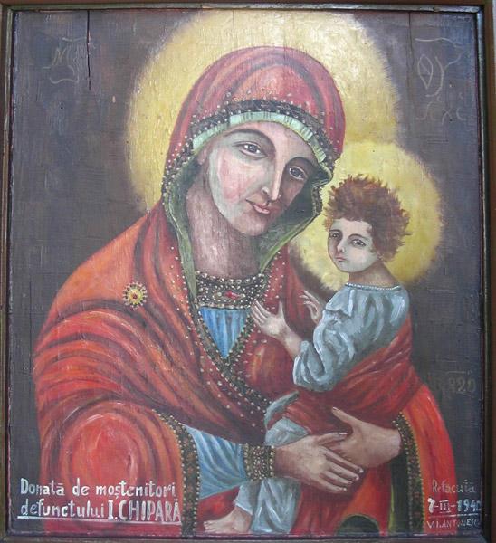 Icoana făcătoare de minuni a Maicii Domnului cu Pruncul de la Mănăstirea Dervent