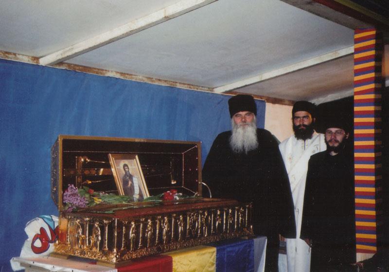 Sfintele Moaşte ale Sfântului Grigorie Decapolitul la Dervent (2004)
