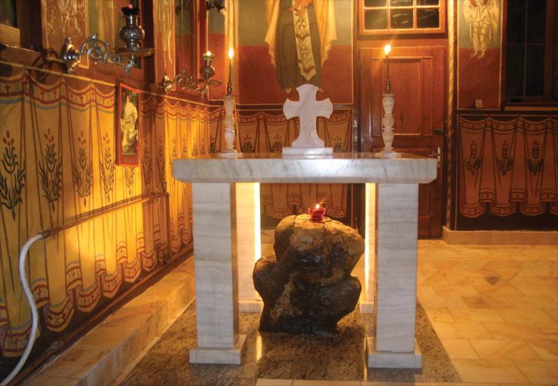 Sfânta Cruce din Paraclis (fotografie din anul 2006)