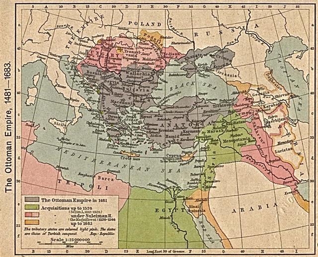 Dobrogea sub stăpânire otomană