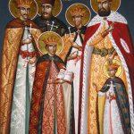 Acatistul Sfinţilor Mucenici BRÂNCOVENI Constantin Vodă cu cei patru fii ai săi: Constantin, Ştefan, Radu, Matei şi cu sfetnicul Ianache