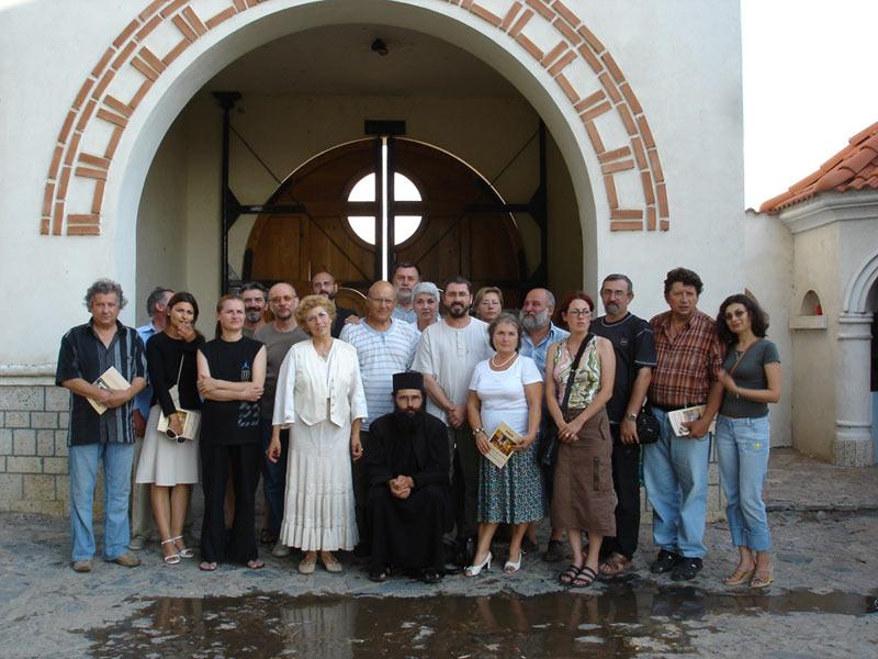 """TABĂRA DE CREAŢIE """"DUNĂREA ŞI DOBROGEA CREŞTINĂ"""" – 2007"""