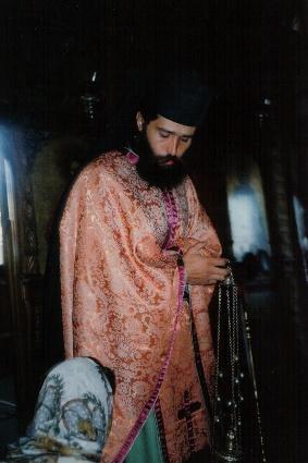 Părintele Andrei stareţul Mănăstirii Dervent